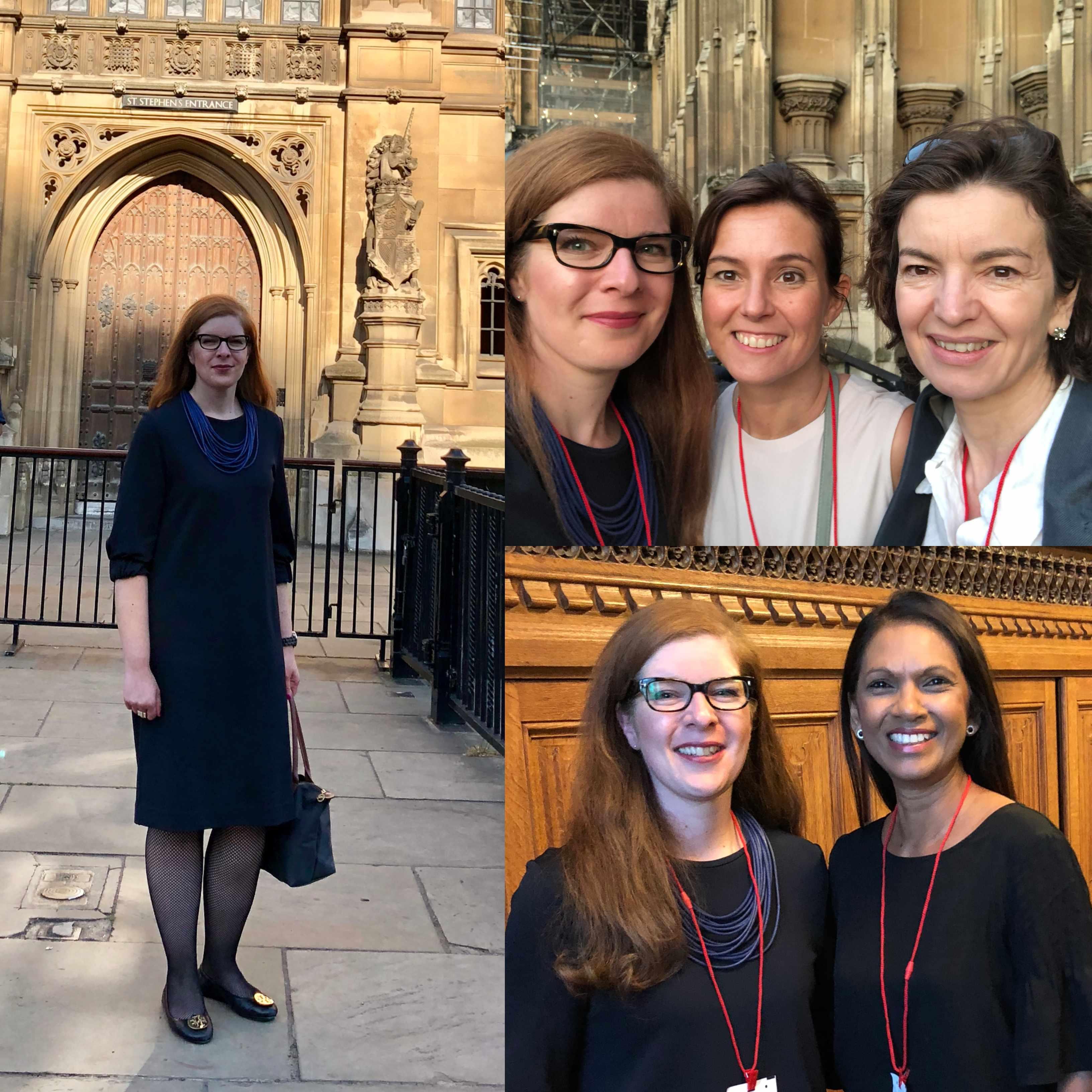 Rede im Britischen Parlament Kleidung Mode IKNMLO Bloggerin Tanja Brexit