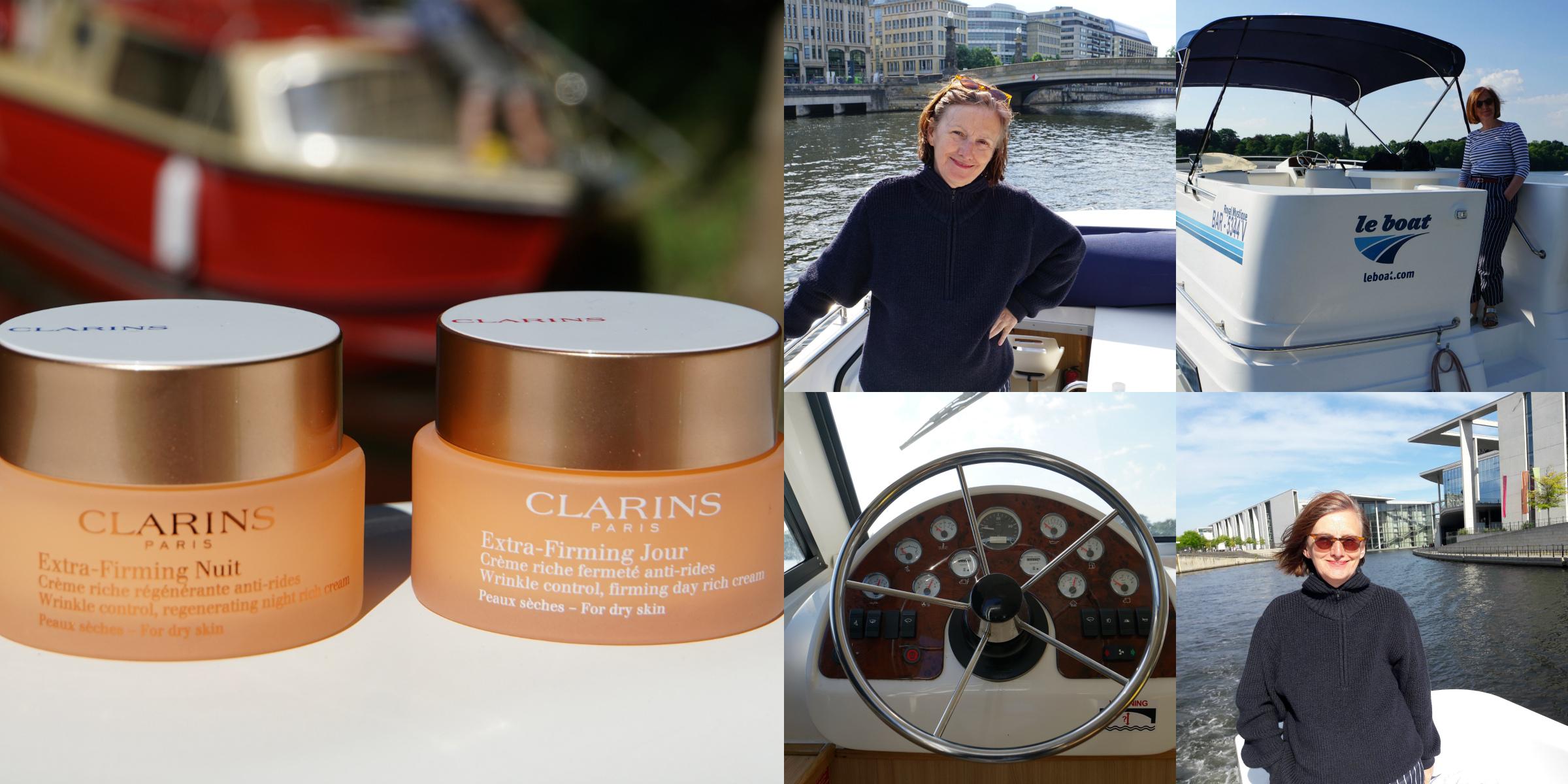 Ursel vom IKNMLO Fashionblog für Frauen ab 40 über Clarins