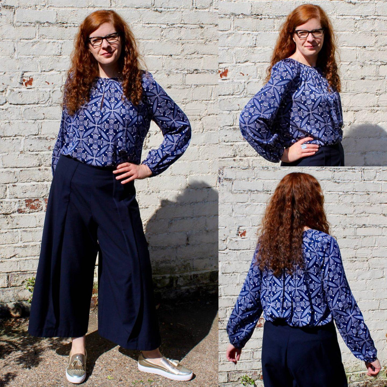 Ü40 Modebloggerin Tanja Diane von Fürstenberg Bluse Modelable Fashion Mode