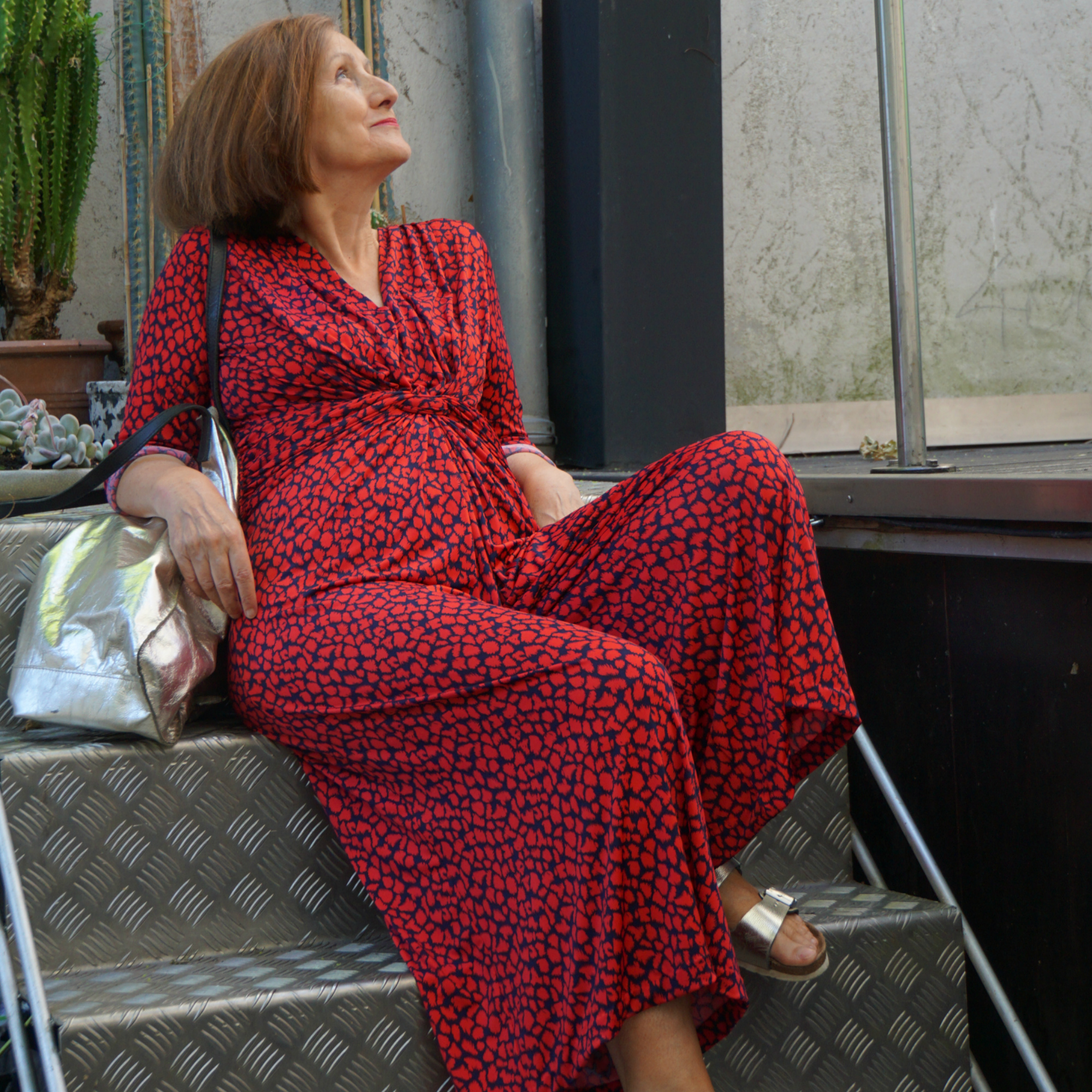 Ursel vom IKNMLO Fashionblog für Frauen ab 40 über Jumpsuits
