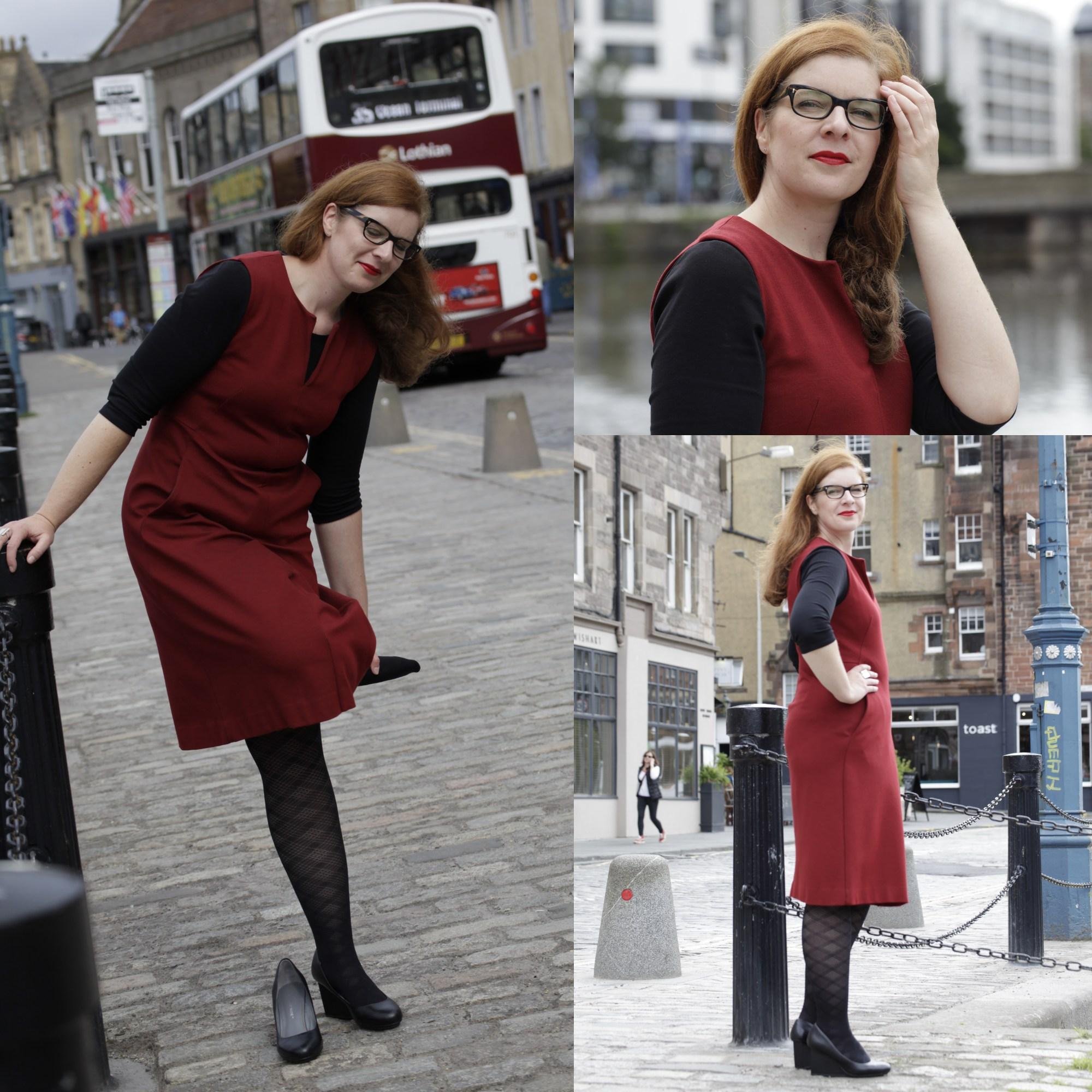 rotes Kleid Fashionblogger Modeblog Freundschaft IKNMLO