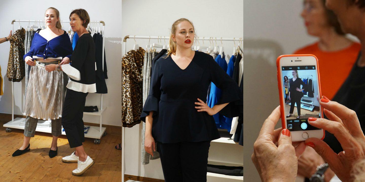 Ana Isa 36..48 Meet the designer Eva Lutz Minx Große Größen