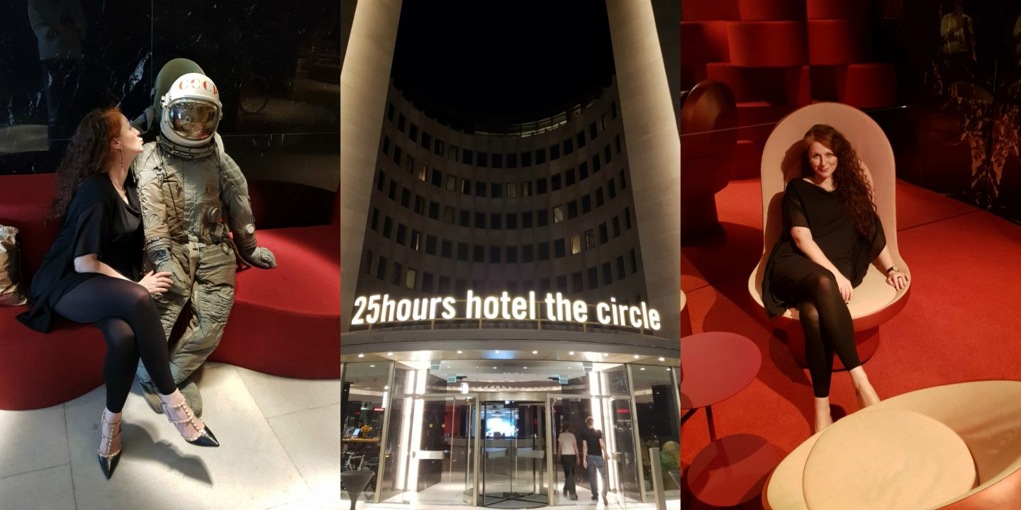 Lobby 25 hours the circle Cologne in Köln