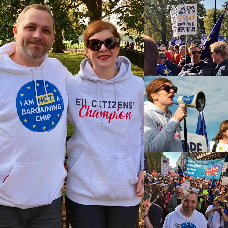 Brexit Peoples Vote London March Protest Politik