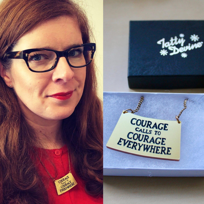 Tatty Devine Schmuck London Frauen Feminismus Mode Blog IKNMLO