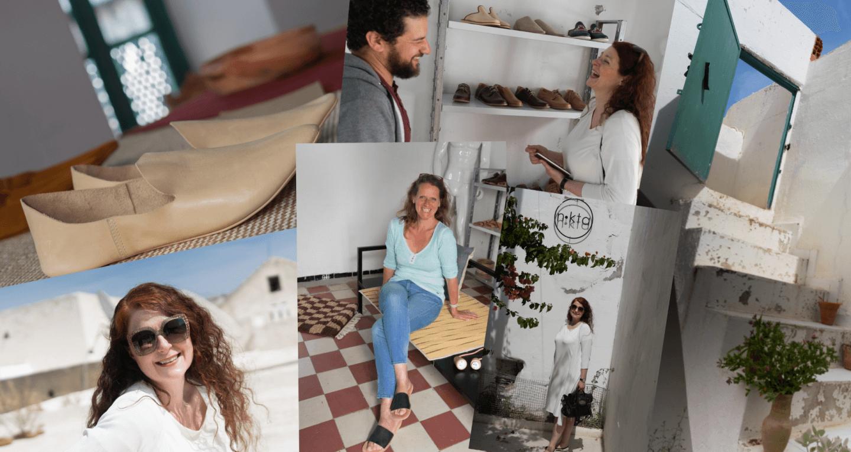 Nokta Shopping Babouches Kunsthandwerk Tipps für ein Mädelswochenende in Tunis iknmlo Ü40 Blog