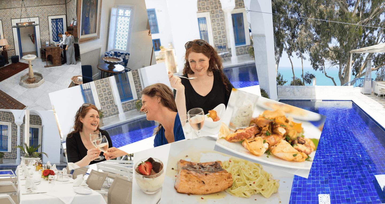 La Villa Bleue Tunis Sidi Bou Said Tipps für ein Mädelswochenende in Tunis iknmlo Ü40 Blog