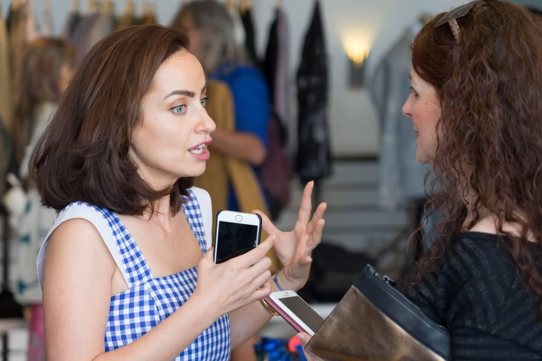 Maya Kadaan Designerin und Gründerin des Labels 8/02 im Gespräch mit iknmlo Modebloggerin Cerstin von iknmlo