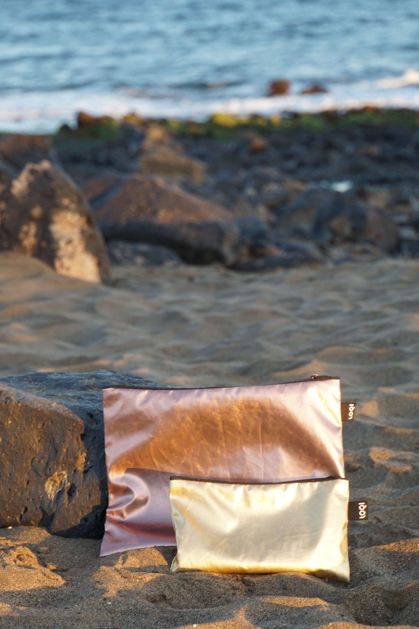 Musthaves für Urlaub am Meer: Loqi Zip bags