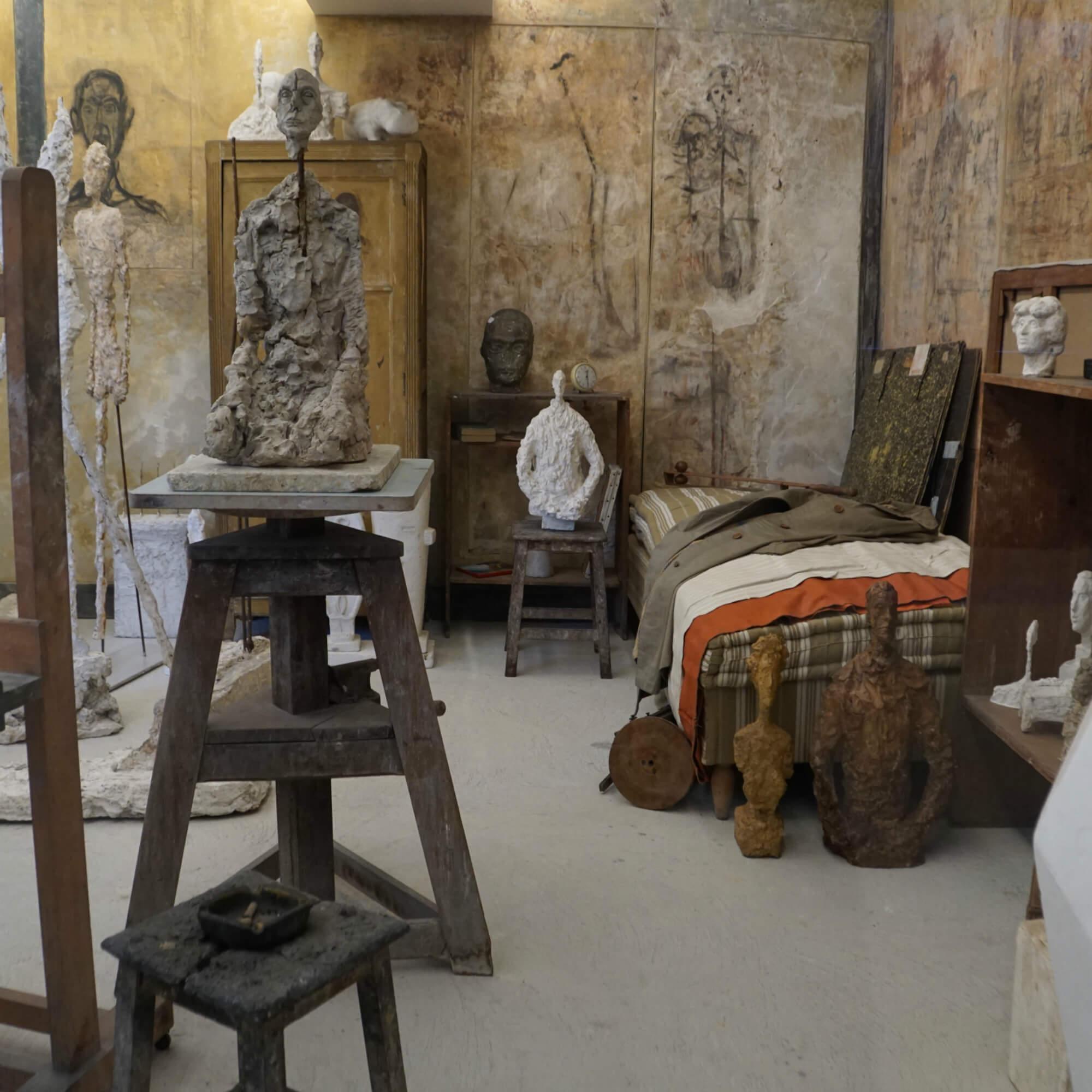 Ü60 Bloggerin Ursel vom IKNMLO Fashionblog über Atelier Giacometti