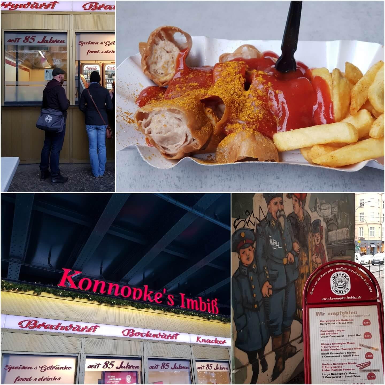 Eat the World Kulinarische Stadtführung Berlin Prenzlauer Berg Tour Currywurst von Konnopke ohne Schlangestehen