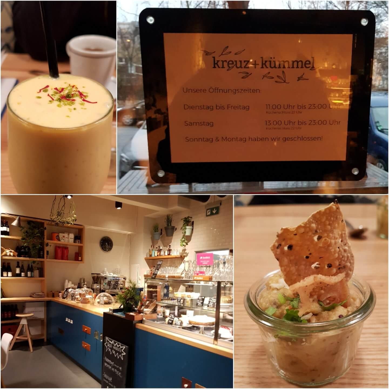 Eat the World Kulinarische Stadtführung Berlin Prenzlauer Berg Tour Kreuz + Kümmel Bistro mit indischen Einflüssen
