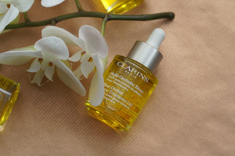 Clarins Huile Orchidée Bleue Erfahrungen Clarins Gesichtsöl