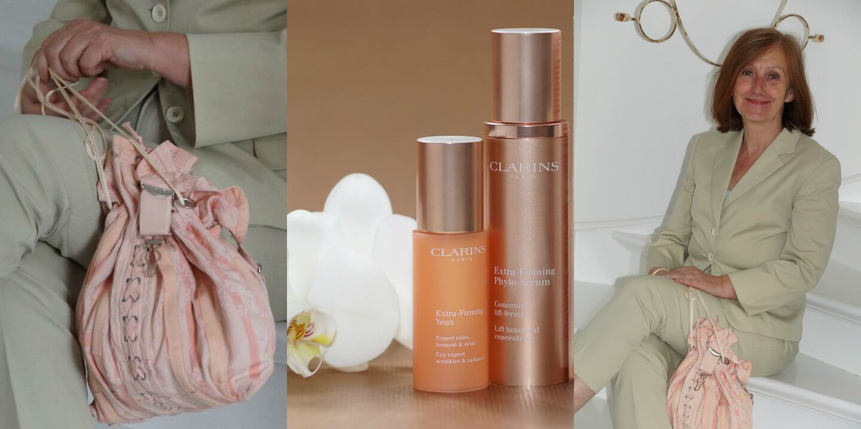 Ü60 Bloggerin Ursel vom IKNMLO Fashionblog über Clarins Extra-Firming Phyto-Serum