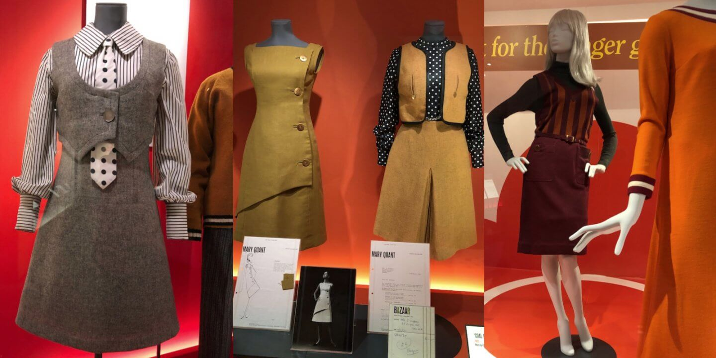 Mary Quant Ausstellung Victoria and Albert Museum London Fashion Mode IKNMLO