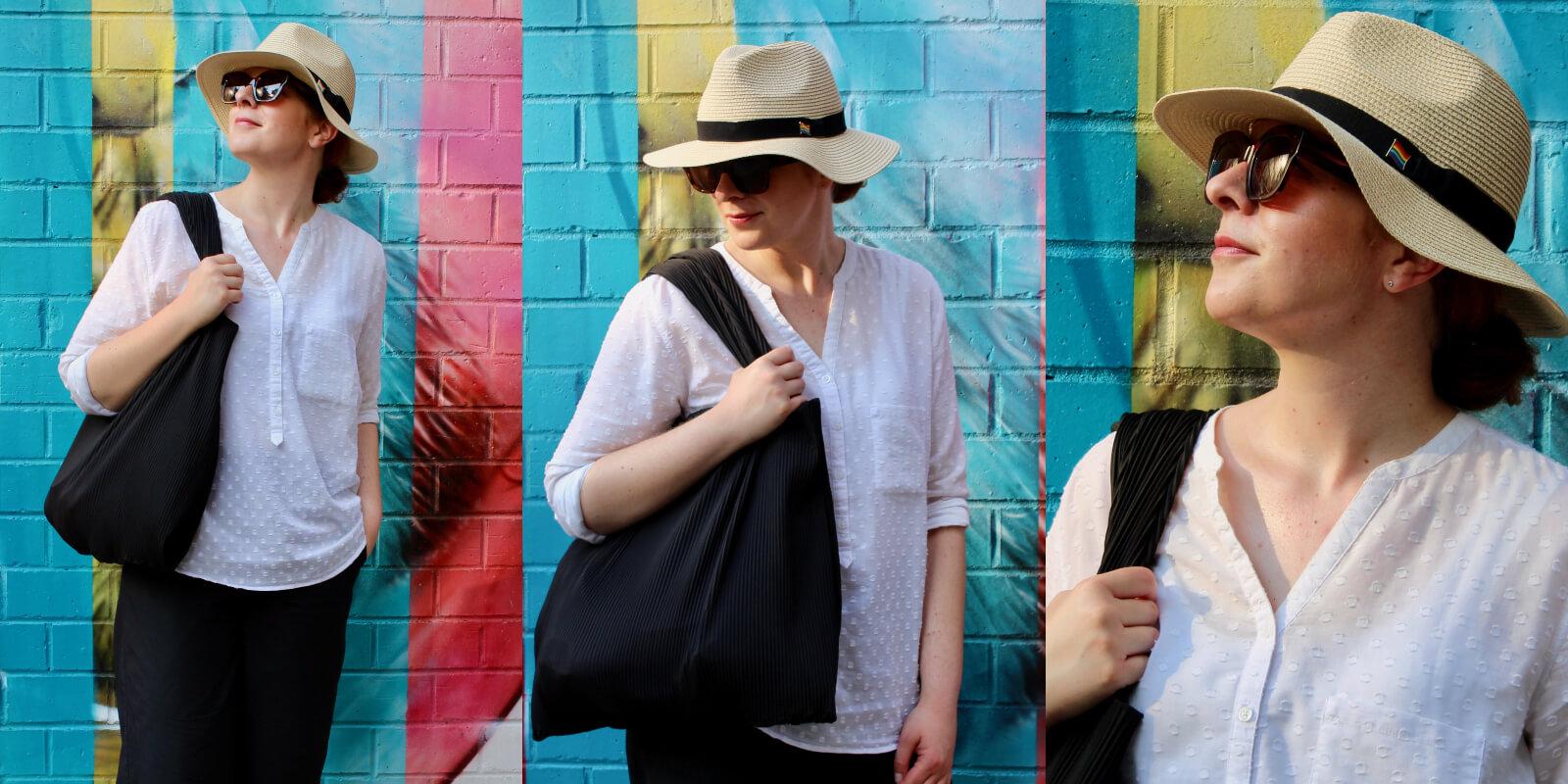 COS Tasche reisen leicht Fashion Mode New York