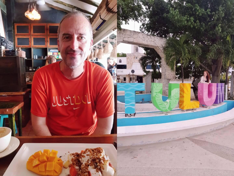 Frühstück im Ki'bok Tulum Mexico