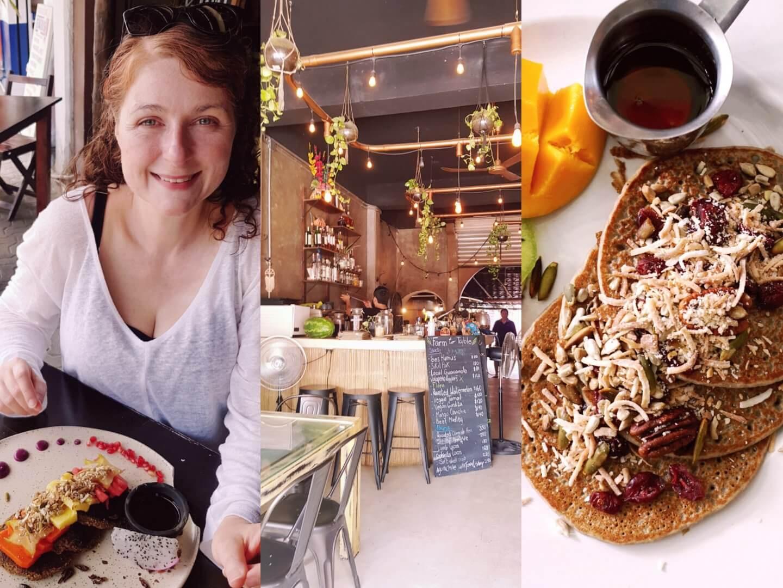 Frühstücken in Tulum Mexico in style