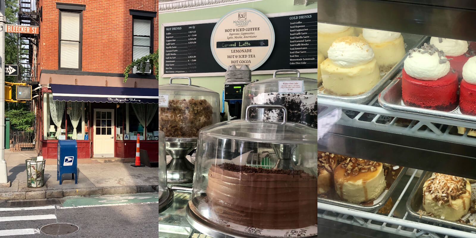 Magnolia Bakery New York Cheesecake Käsekuchen reisen foodie