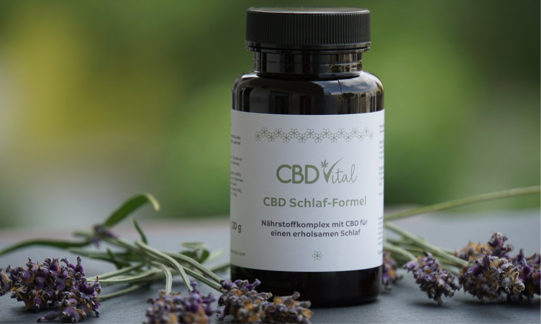 CBD-Vital Schlaf-Formel mit CBD-Öl Erfahrungen