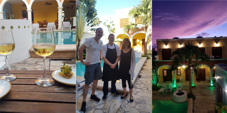 merida santiago boutique hotel social hour Mexiko Reisetipps