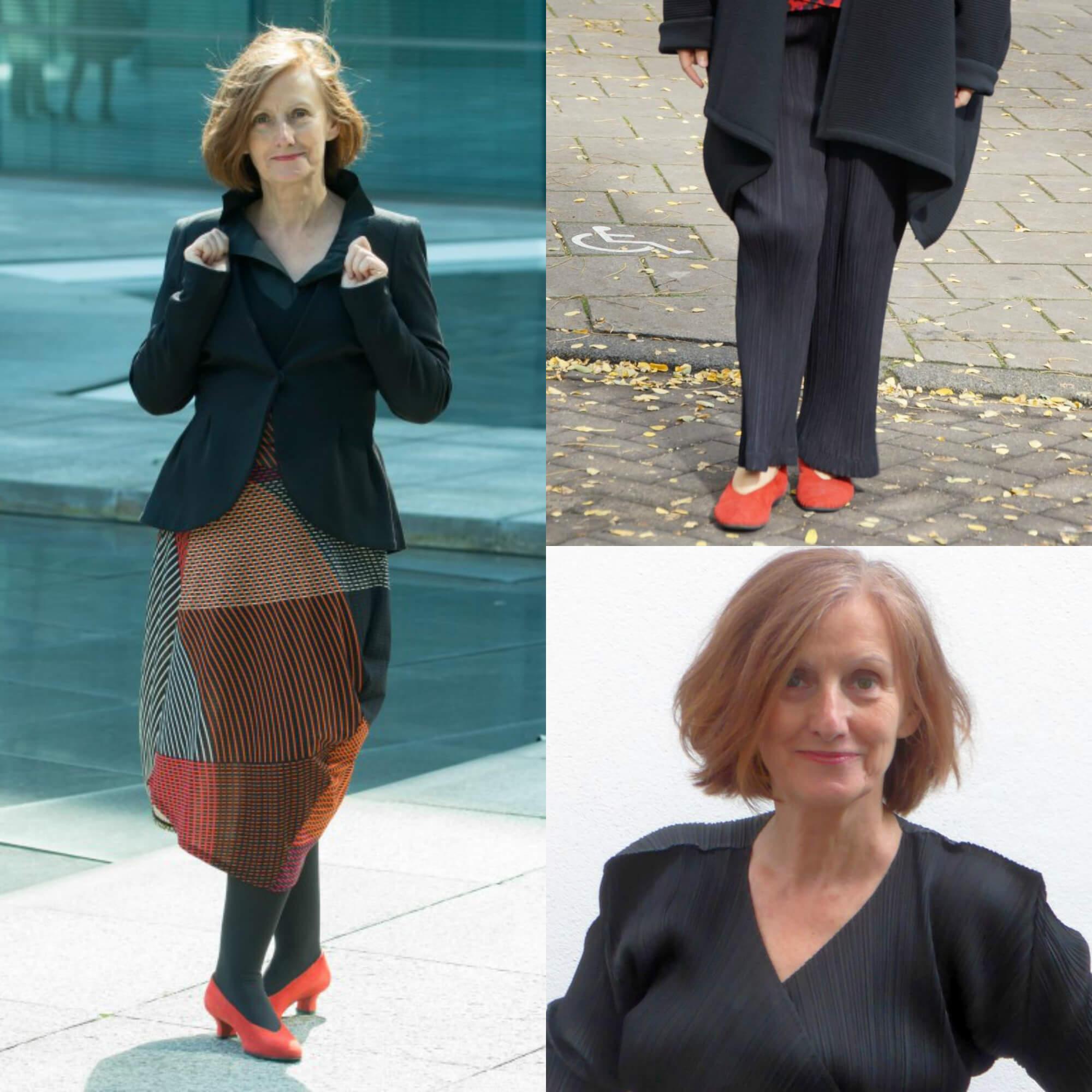 Frauen 60plus: So geht guter Stil - mit Issey Miyake