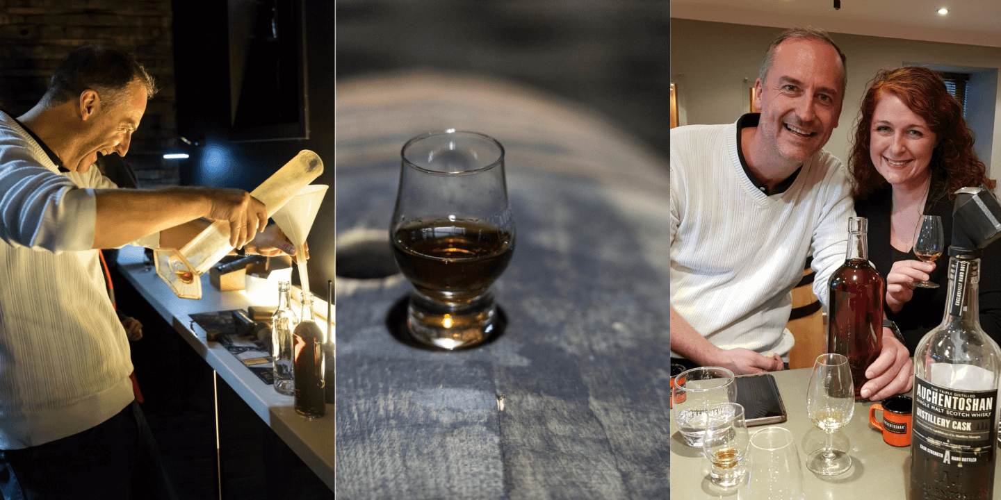The Ultimate Auchentoshan Distillery Tour Glasgow mit One straight from the cask Bottle your own