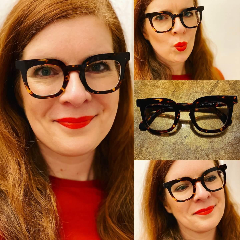Brille Brillenmode Anne at Valentin Toulouse unabhängig