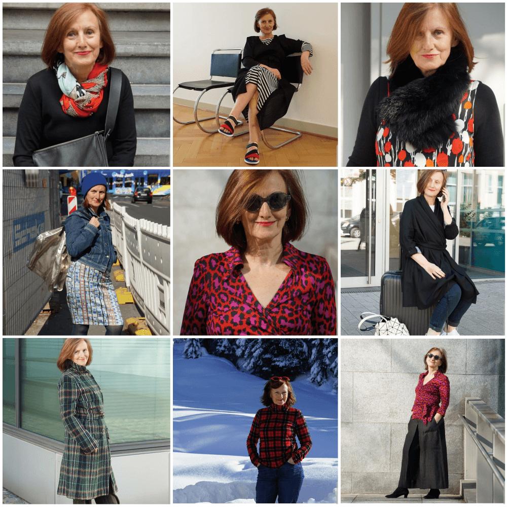 Ü60 Modebloggerin Ursel - Mode-Rückblick auf 2019