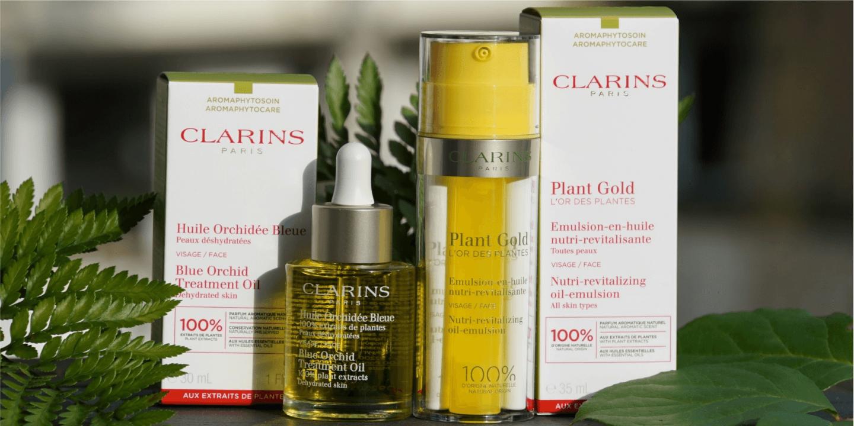 Clarins Plant Gold und Clarins Huile Orchidee Bleue Erfahrungen