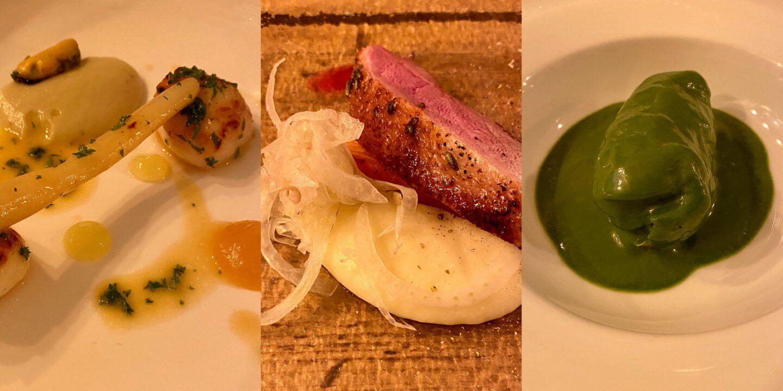 Aurora Restaurant Edinburgh Feier Schottland Foodie