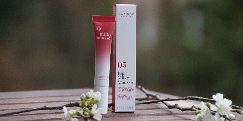 Clarins Milk Shake Collection Milky Boost Lip Mousse Lidschatten Makeup