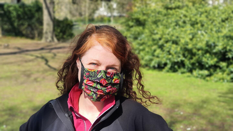 Jogging mit Mundschutz