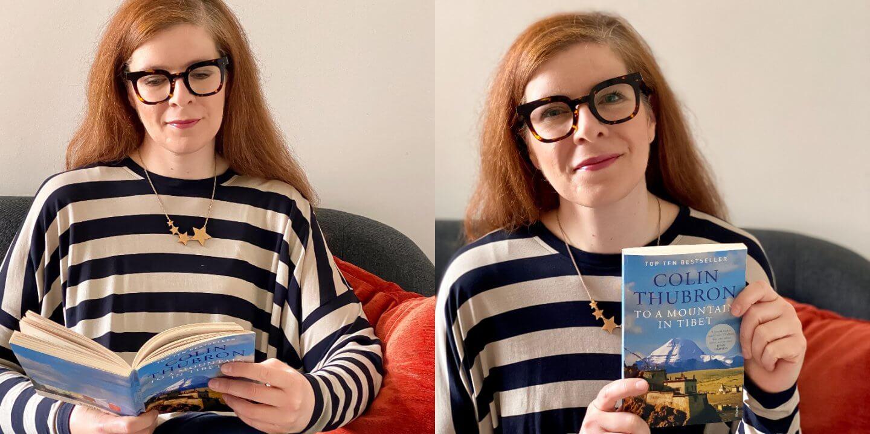 Sofa reisen Buch lesen Flucht IKNMLO