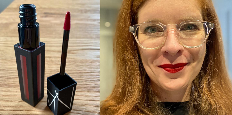 Lippenstift Maske NARS Powermatte Pigment Lipstick, Starwoman