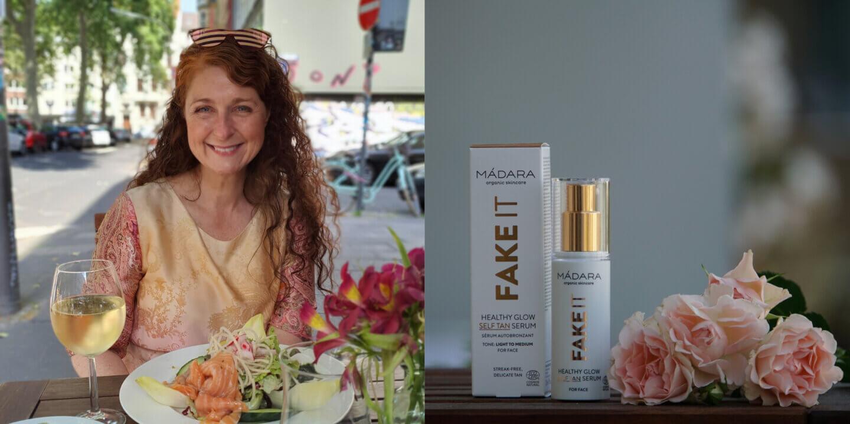 Madara Fake it Healthy Glow Naturkosmetik Selbstbräuner Serum Erfahrungen