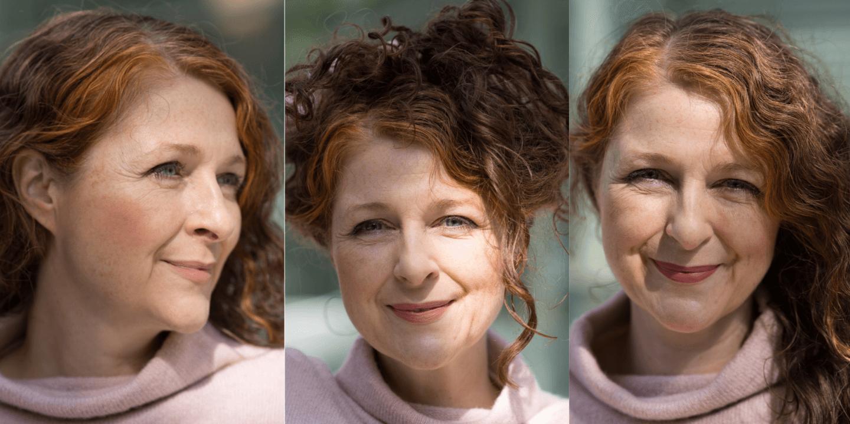 Matte Lippen mit Ü50 und der Clarins Velvet Kollektion 2020 Looks Ü50