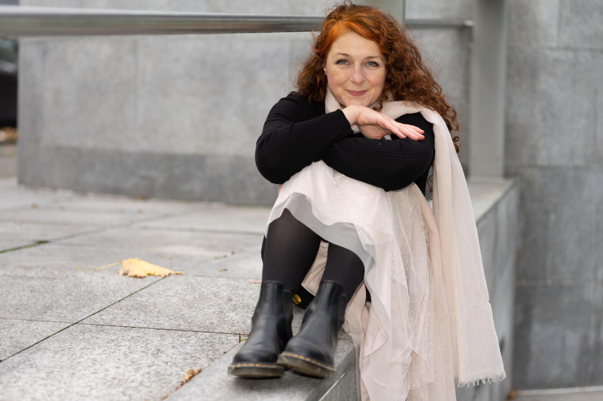 Dr Martens und Tüll kombinieren - Looks einer Ü50 Modebloggerin