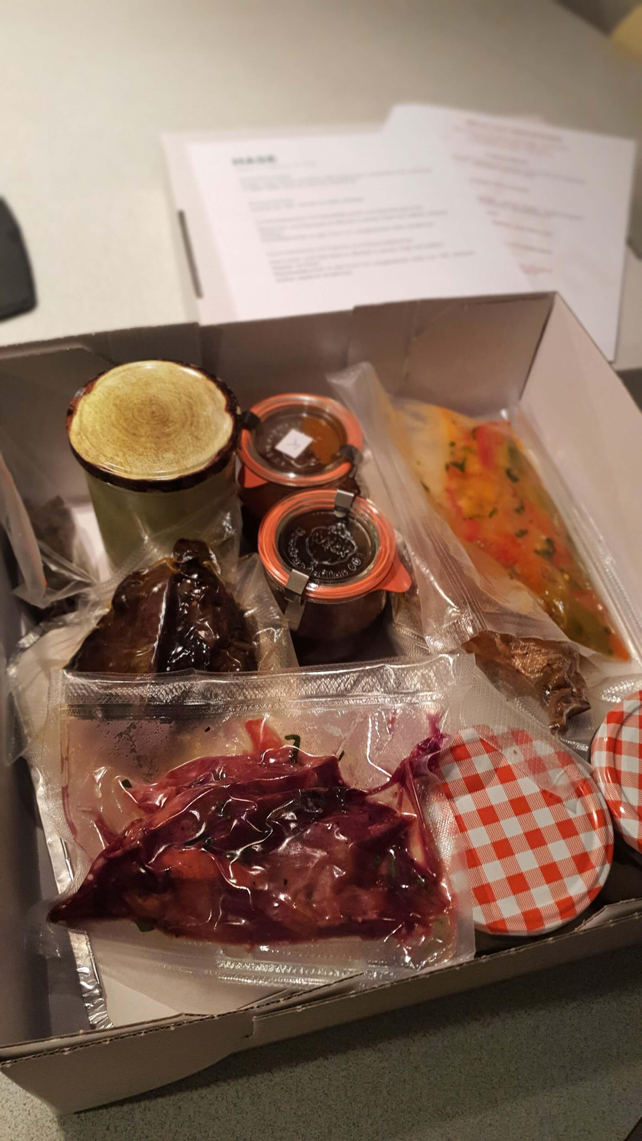 Menü to go vom Restaurant Hase in Köln