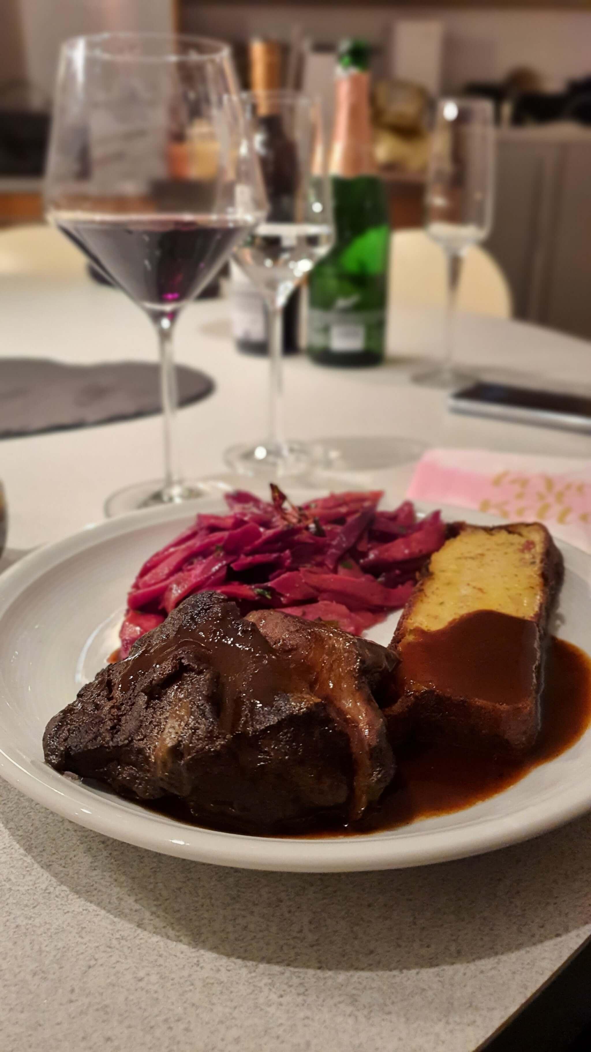 Ochsenbäckchen Restaurant Hase Menü to go Köln