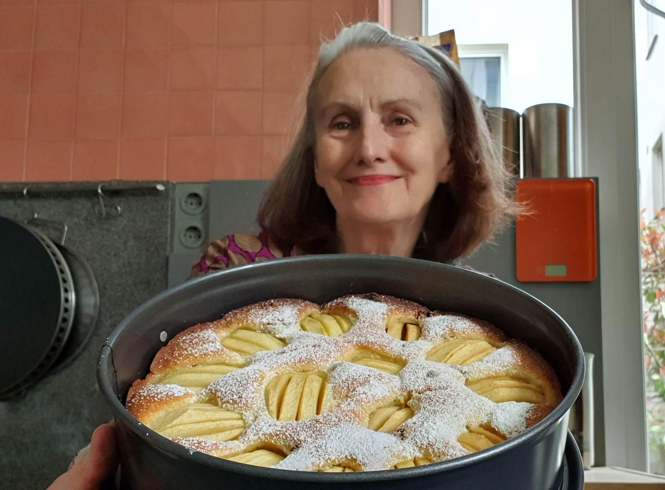 Haben Sie auch gerade Hunger auf Apfelkuchen?