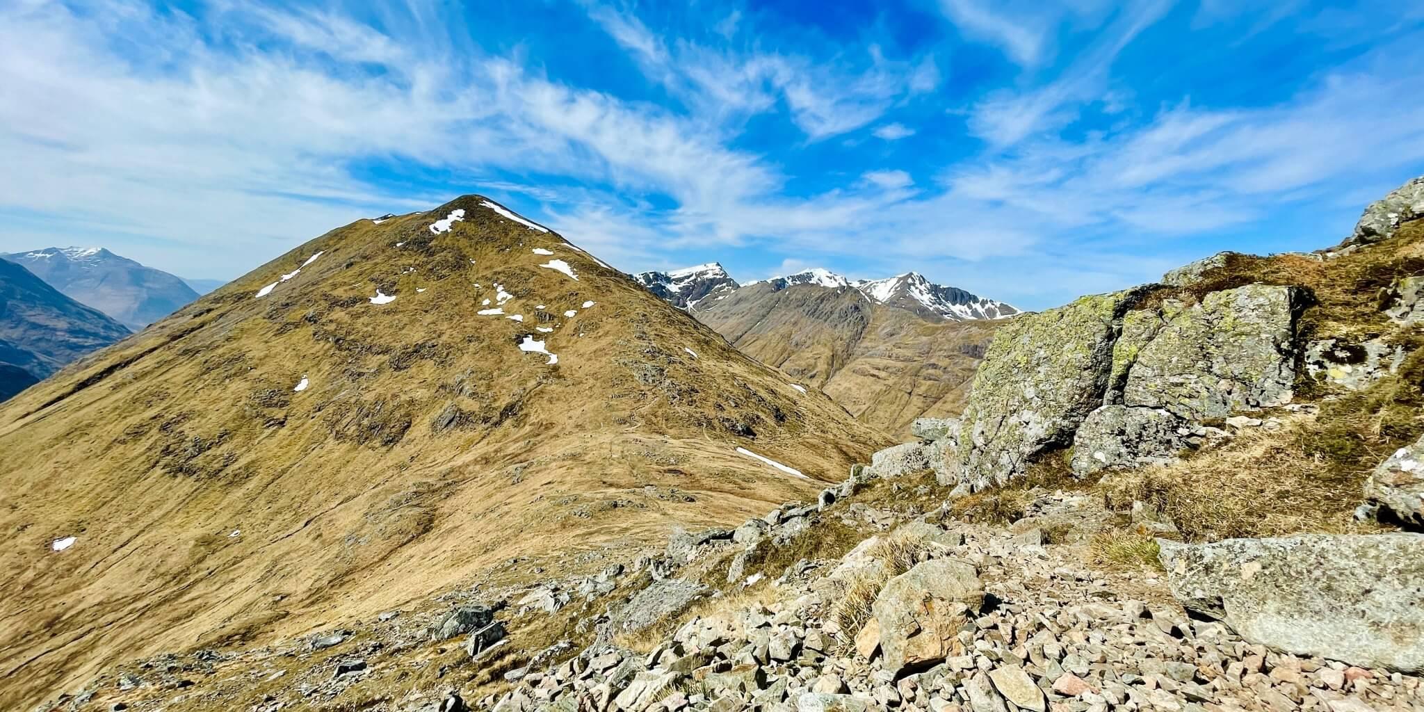Glücksgefühl wandern Schottland Glen Coe hiking outdoors