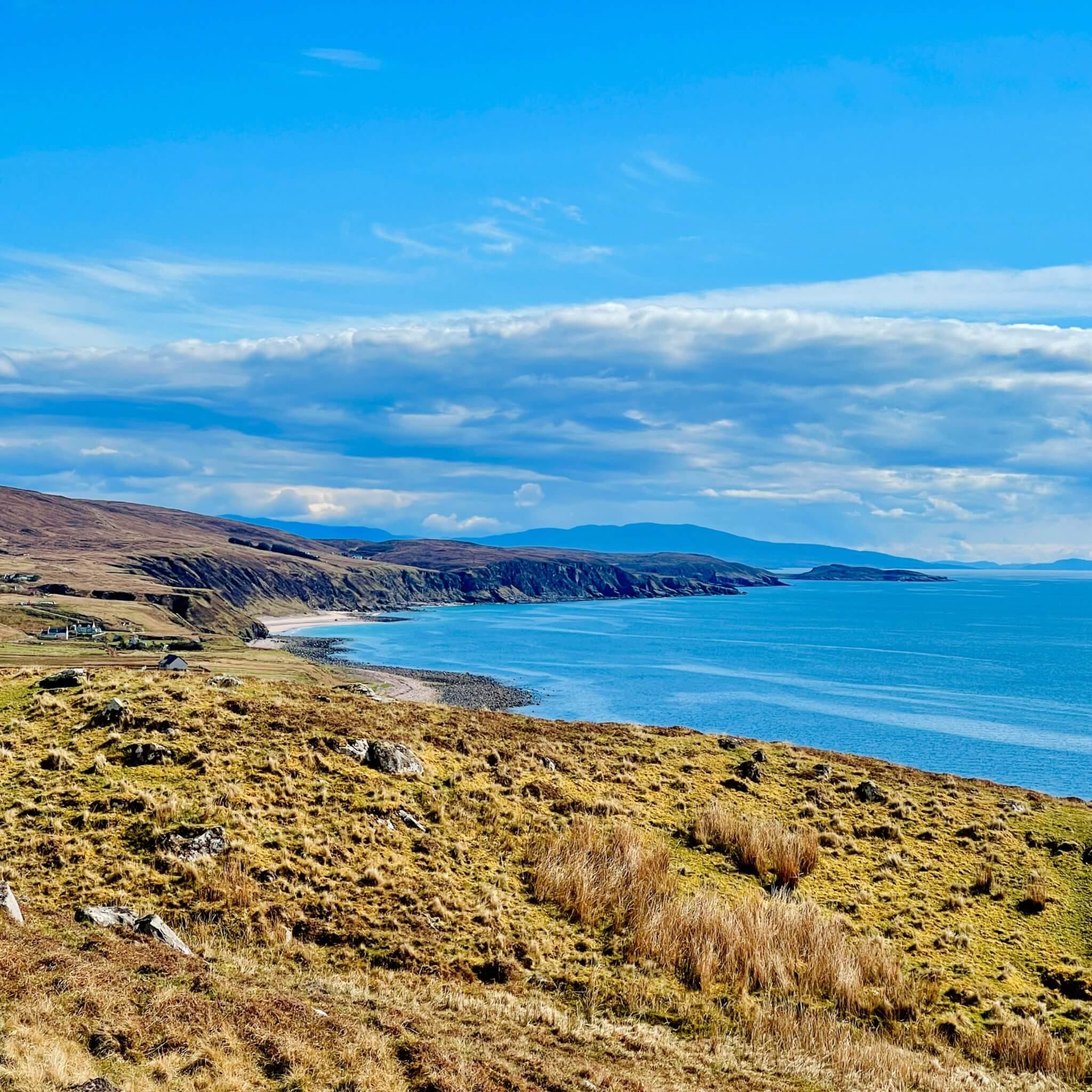 Shiskine Pod Highlands Gairloch Schottland Glamping Urlaub Natur