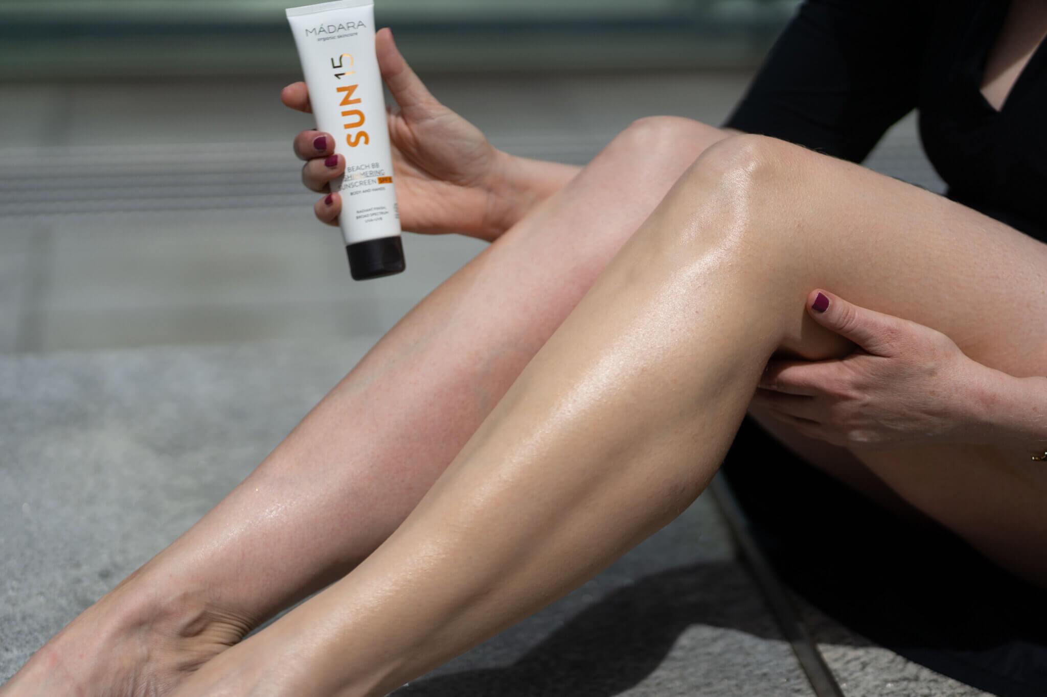 Madara SUN15 Beach BB Shimmering Sunscreen SPF 15 test
