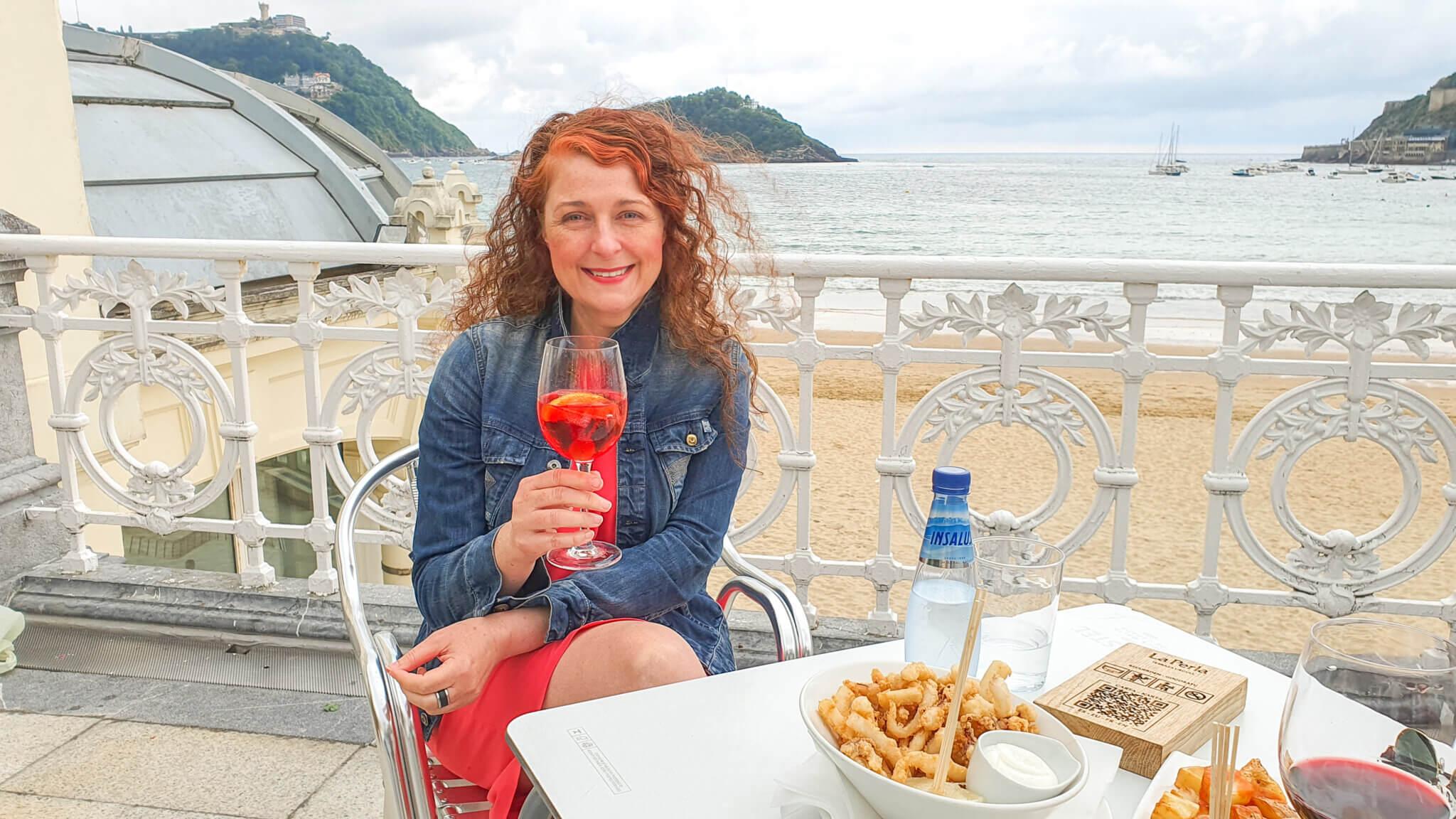 Essen und Trinken in San Sebastián Spanien