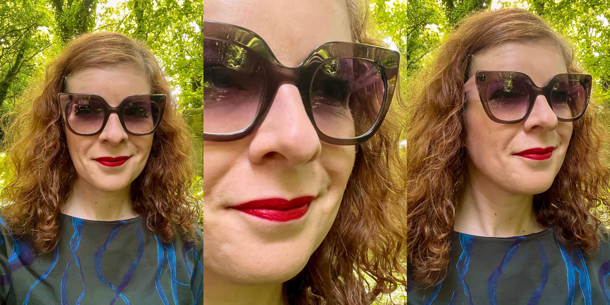 Sonnenbrille Anne et Valentine Sheridan Sommer Sonne sunglasses Ü40 Style
