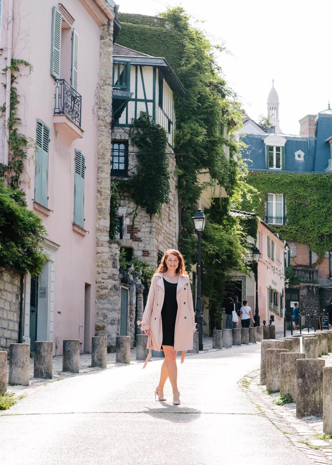 Schönste Fotolocations im Montmartre Paris Rue de l'Abreuvoir styleREBELLES
