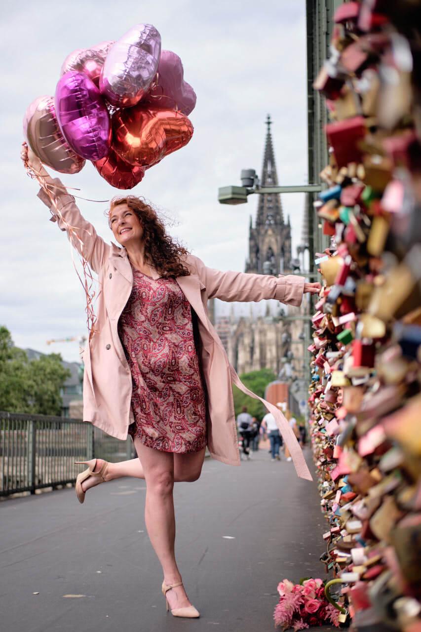 Kölner Hohenzollernbrücke - die besten Instagram Fotoshooting Locations in Köln rund um den Kölner Dom