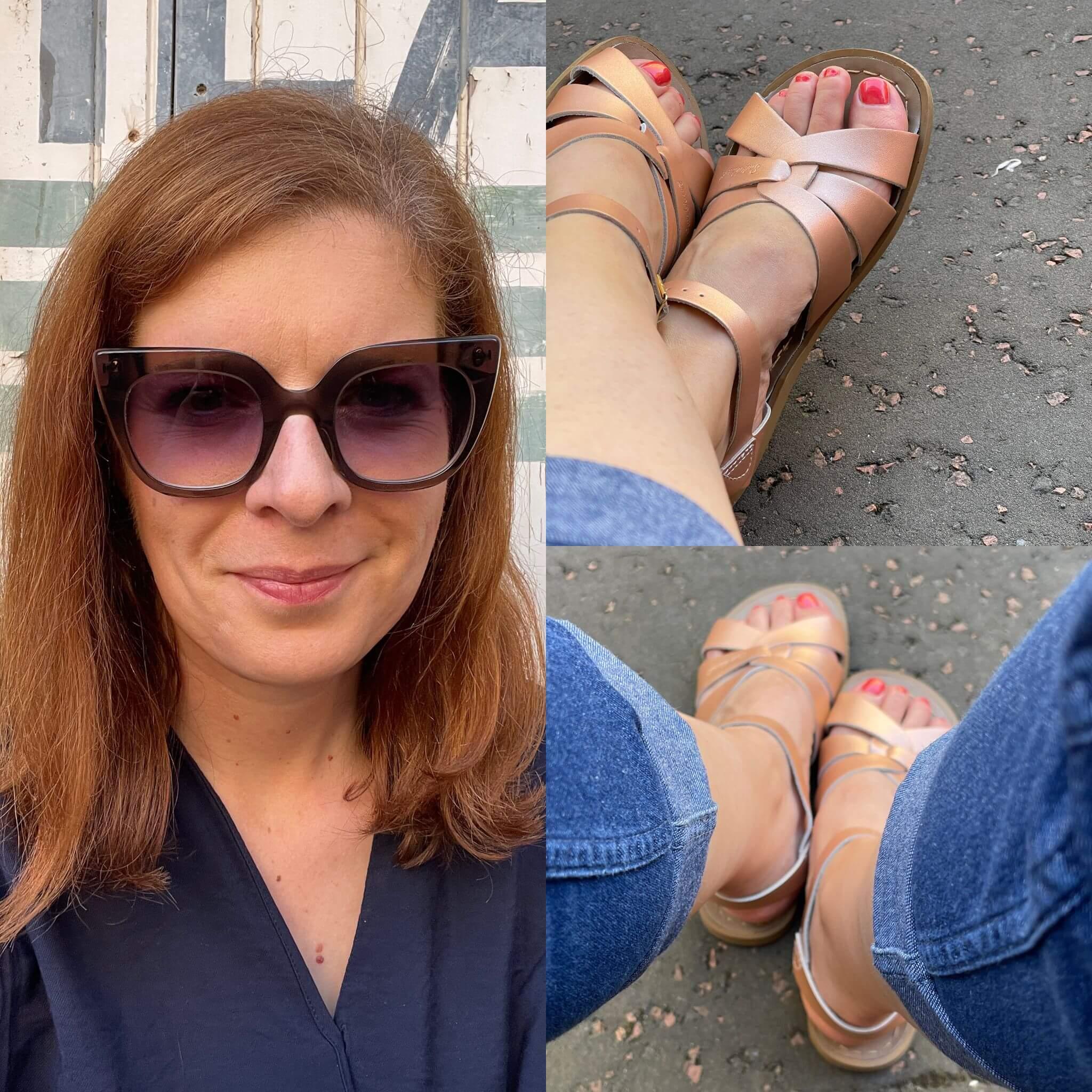 Saltwater Sandalen rose gold Sommer wetterfest Schuhe Style