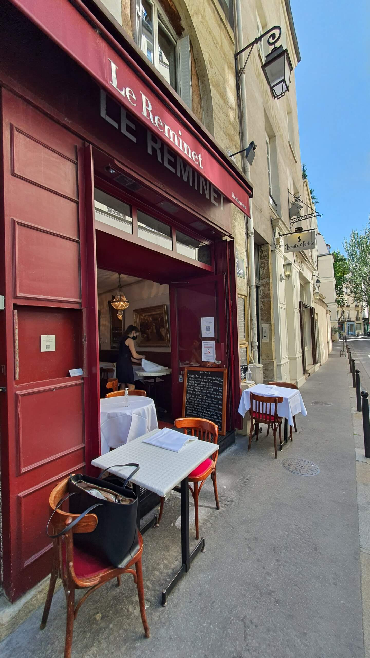Le Reminet Paris Lunchmenü Erfahrungen